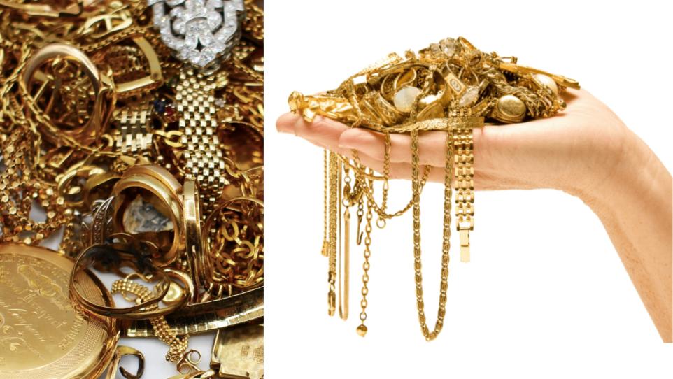 Image d'en tête pour le service de rachat d'or