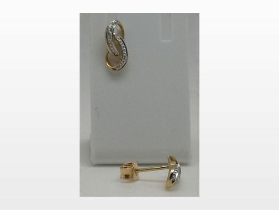 boucles d'oreille or et diamants