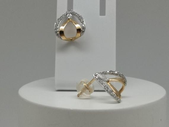 Boucles d'oreille or ocydes